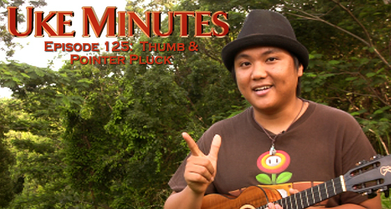 Uke Minutes - Thumb and Pointer Pluck