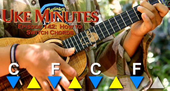 How To Switch Chords On The Ukulele Ukulele Underground