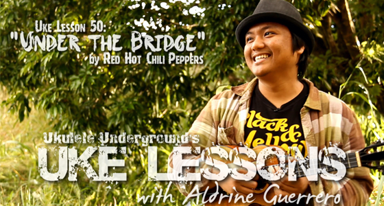 Uke Lesson 50 - Under The Bridge (Red Hot Chili Peppers) - Ukulele Underground