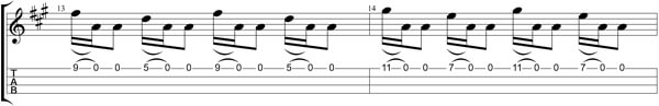 How Can I Get Over TAB - Bars 13&14