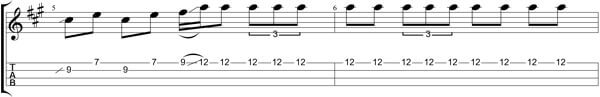 How Can I Get Over TAB - Bars 5&6