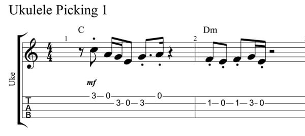 Electric Boogie Picking Staccato